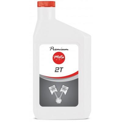 Масло моторное Mota oil Premium 2T АРI-TC 1л (крас