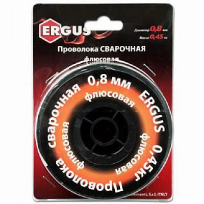 Проволока сварочная QE флюсовая, 0,8 мм, масса 0,45 кг.