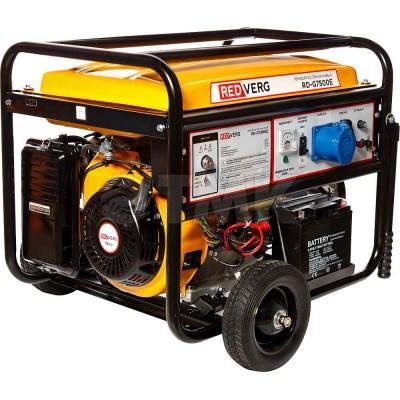 Генератор бензиновый RedVerg RD-G7500Е