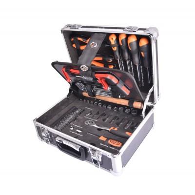 Набор инструмента Квалитет 85 предметов в металлическом кейсе